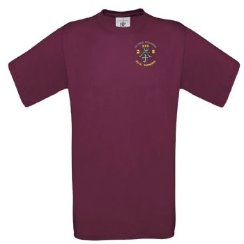 25 Field Squadron Embroidered T-shirt